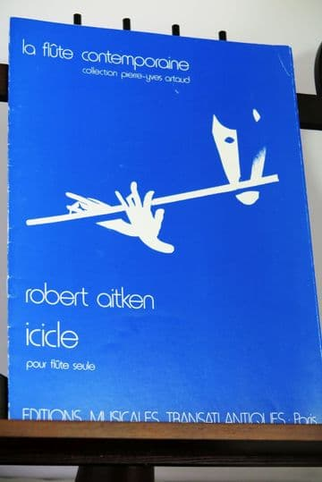 Aitken R - Icicle for Solo Flute